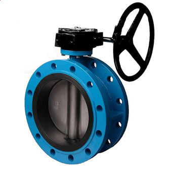 China best quality electric actuator flange butterfly valve 10 inch