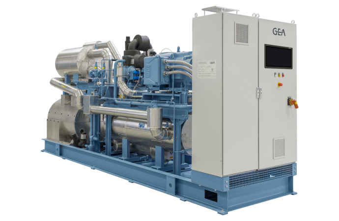 How to install an efficient large-scale heat pump for district heating?