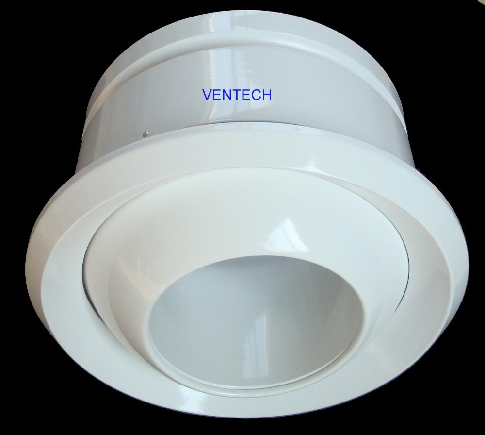 Hvac Ventilation Ball Spout Jet Diffuser High Ceiling