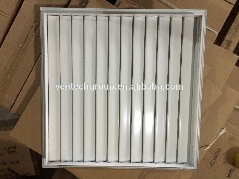 Hvac Ventilation Aluminium Movable Louver Shutter