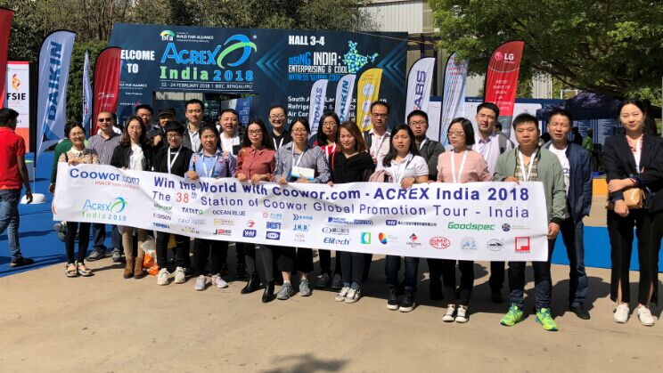 ACREX India 2019 South Asia's Largest Exhibition on Refrigeration & Cold Chain, Air Conditioning, Ventilation and Intelligent Buildings