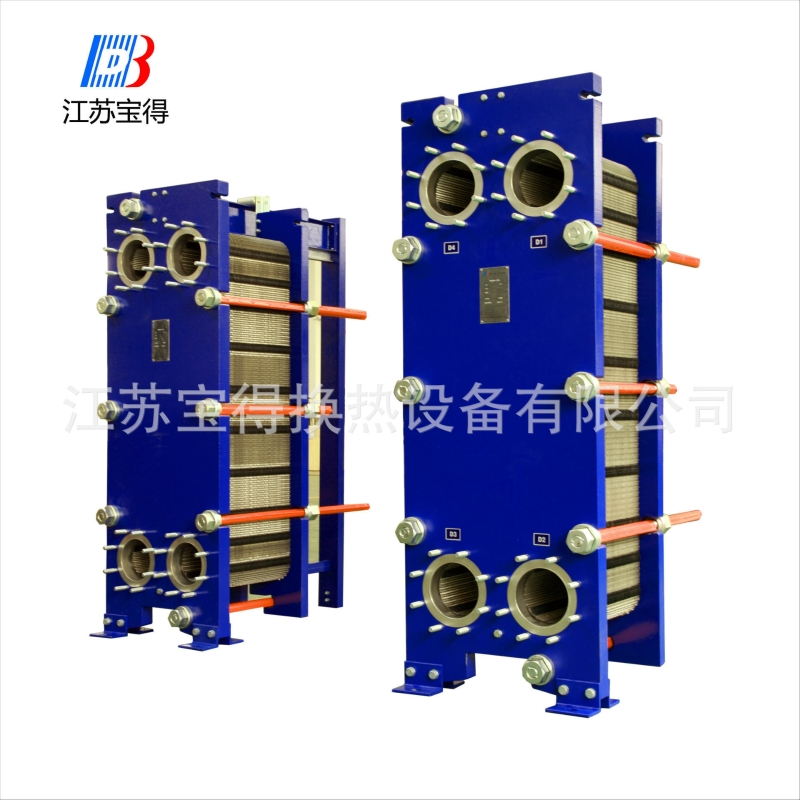 Gasketed Plate Frame Heat Exchanger For Oil Cooler (BH300 Series ...