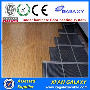 Ptc Electric Floor Heating Infrared Carbon Fiber Heating Film