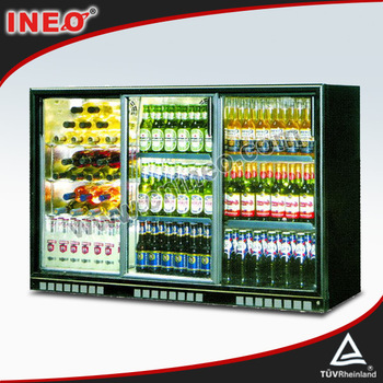 Superieur 303L Sliding Glass Door Back Bar Fridge/Beer Bottle Fridge/Bar Fridge With  Glass