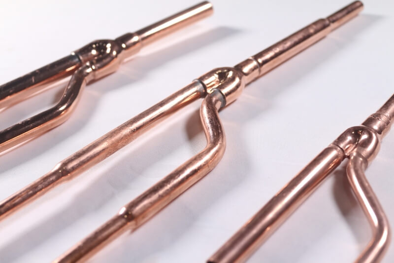 Air Conditioner Copper Pipe Y Branch Vrf Fittings Coowor Com