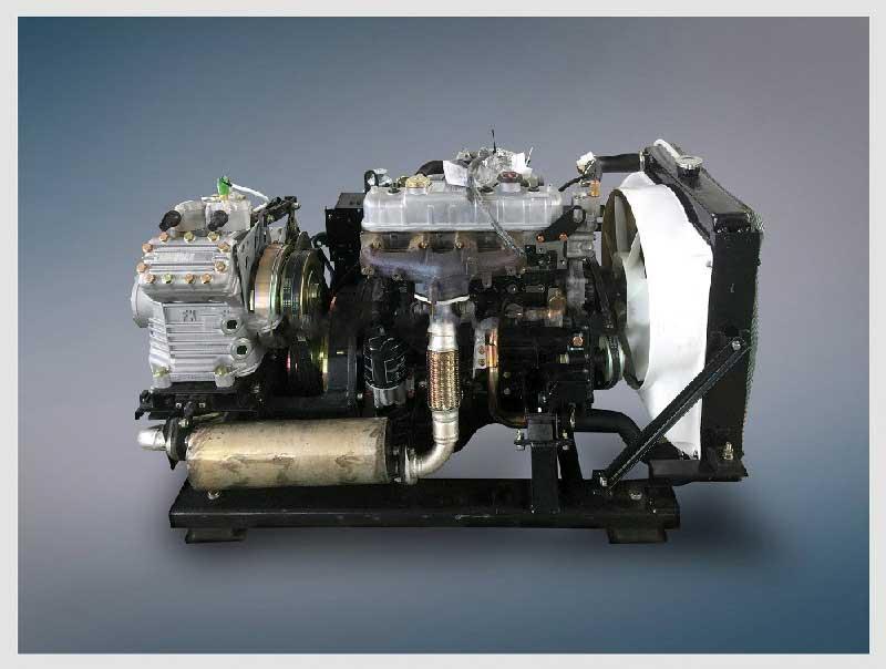 Air Conditioner Compressor Price >> Tata and Ashok Leyland Bus AC Unit with Sub engine for Bus air conditioner TKT-380PB - Coowor.com