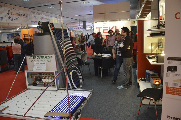 The 22nd Edition of Romtherm, International Exhibition for Installation, Heating, Cooling and Air Conditioning Equipment