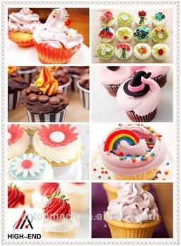 Popular Mini Portable Grill 8 Circular Cup Cake Making Machine Cupcake Making Machines In