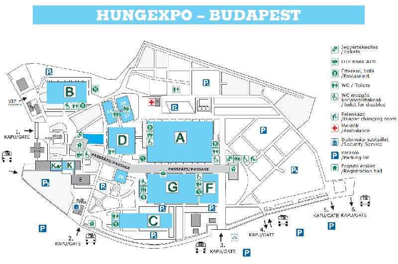 Hungexpo Budapest Fair Center