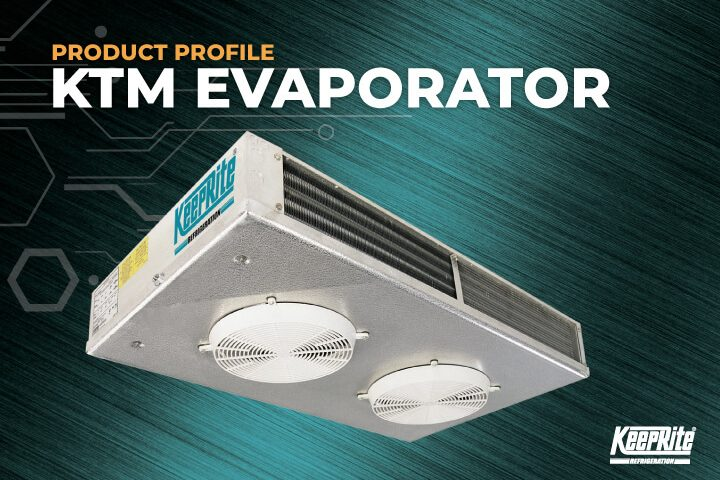 KeepRite Refrigeration KTM Two-Way Medium Profile Evaporators