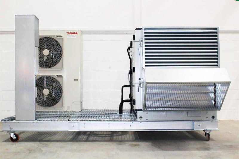 Skid-mounted Solution from Toshiba Cuts Installation Time