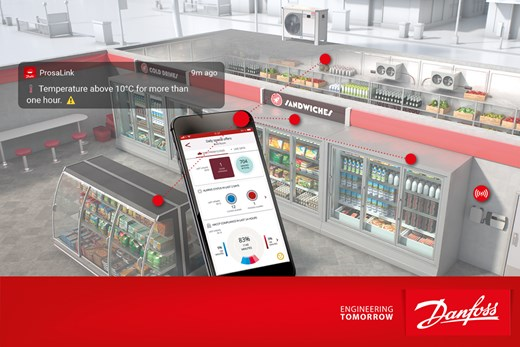 Danfoss presented app for affordable temperature monitoring