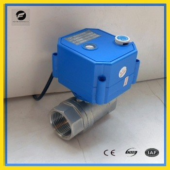 CWX 25s electric ball valve with actuator for hvac water