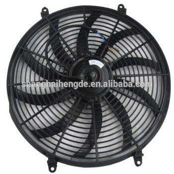 Universal Dc 12v 16 Inch Push Pull Electric Radiator Motor Cooling Fan For 80w 120w 160w