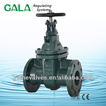 DIN F5 NRS metal seated handwheel gate valve with low price