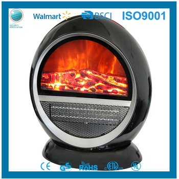 Sungroy Hot Sale Small Decor Flame Electric Fireplace Fan Heater