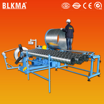 a46933a9d9734 China factory price for spiral duct forming machine made round duct high  speed