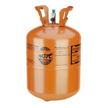 Mixed Refrigerant Gas R407c, replacement of R22 gas for air