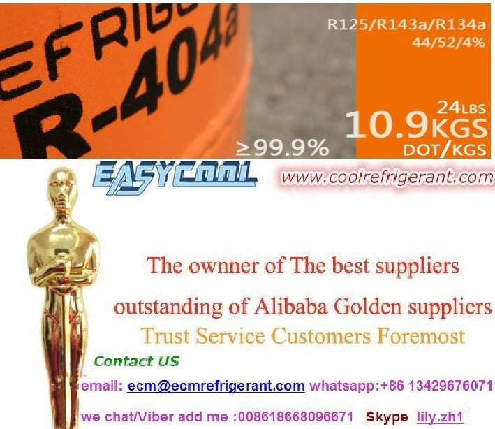 Mixed refrigerant gas purity R404a,R134a ,R410a,R407c,R408a