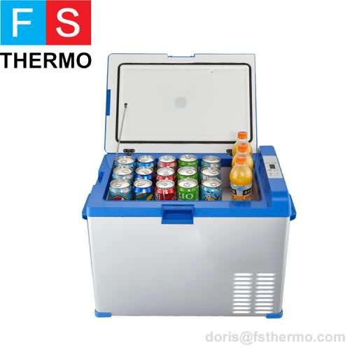 DC compressor solar power mini fridge refrigerator freezer 40L