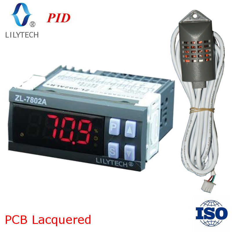 100-240 VAC ZL-7830A Hygrostat H3A1 30A Relais Feuchtigkeitsregler Digital