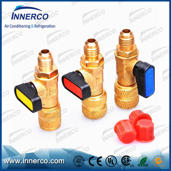 High quality R22 R410a R32 Charging Hose Brass Pipe Fitting for