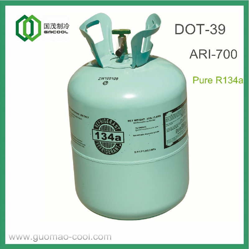 REFRIGERANT R134A in 13 6kg DOT-39 cylinder - Coowor com