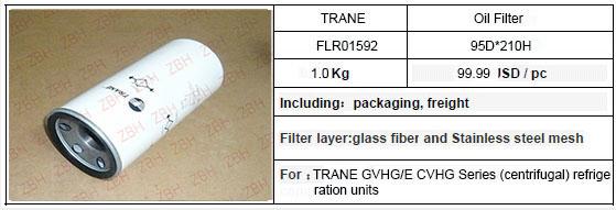Replace TRANE GVHG/E CVHG Series (centrifugal) refrigeration