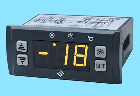 SF-104B Freezer Temperature controller Defrost Digital display thermostat 30A