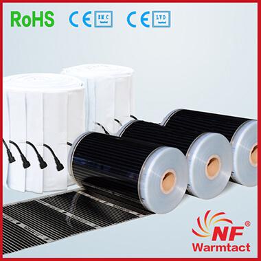 Floor Heating Systems Type PTC Floor Heating System Film Cooworcom - Types of in floor heating systems