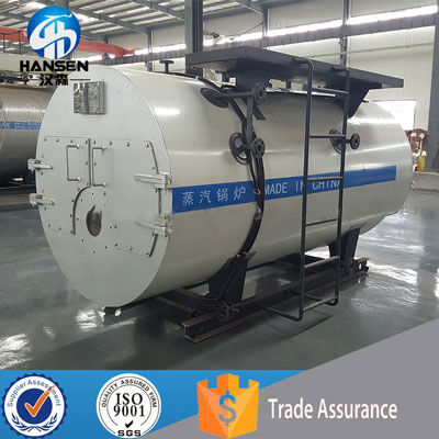 45a45b7bbf High Quality 3-Passes Fire Tube Wet Back 1500KG HR Commercial Natural Gas  Steam
