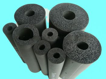 Closed Cell Nitrile Rubber Foam Insulation Tube rubber foam pipe insulation (NBR/PVC) & Closed Cell Nitrile Rubber Foam Insulation Tube rubber foam pipe ...