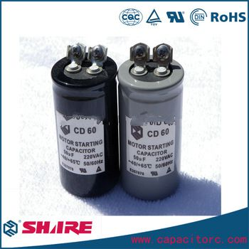<font color='red'>low</font> <font color='red'>voltage</font> starting capacitor CD60 200v 130uf capacitor