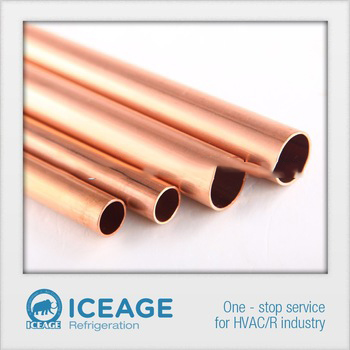 """ACR Hard Drawn Copper Copper Tube Sold in 2 Foot Pieces 3//8/"""" O.D"""