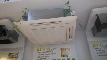 Chilled Water Cassette Type 4 Way Fan Coil Unit With Ce