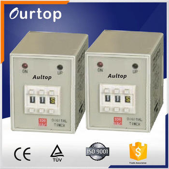 AH3P 220v programmable timer electric time delay relay