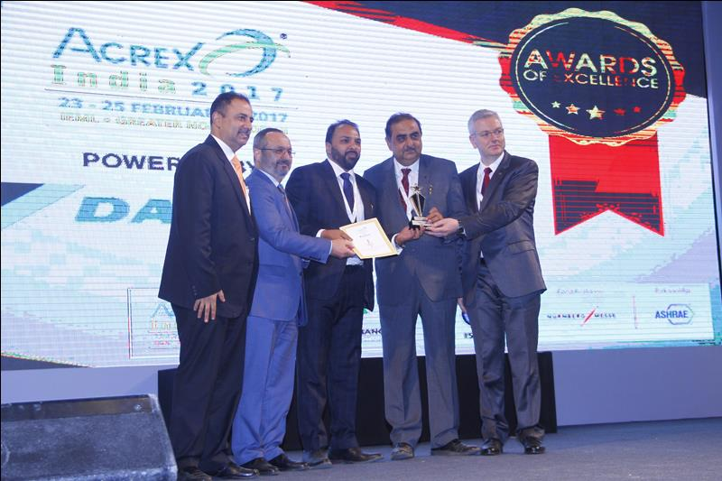 ACREX India 2018 South Asia's Largest Exhibition on Refrigeration & Cold Chain, Air Conditioning, Ventilation and Intelligent Buildings
