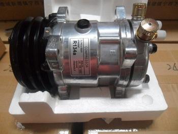 Actecmax Universal Automatic Sanden AC Car Compressor SD5H14