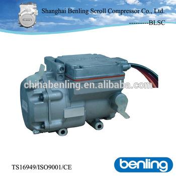 Dm18a7 18 Cc 12v Dc Electric Scroll Eddy Vortex Compressor Brushless Truck Cab Sleeper Air