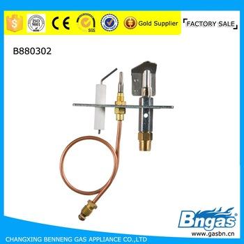 B880302 Quality Gas Fireplace Parts Ods Pilot Burner Coowor Com