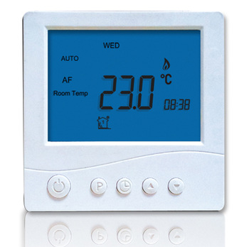 High Efficiency Programmable Font Color Red Tamperproof Thermostat