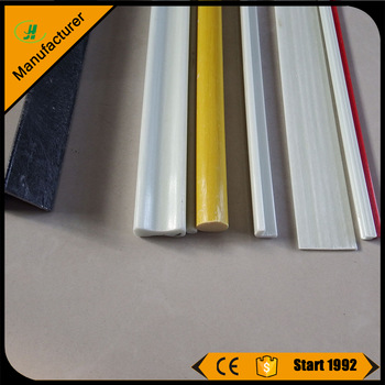 FRP Pultrusion products/ fiberglass square pipe /glass fiber