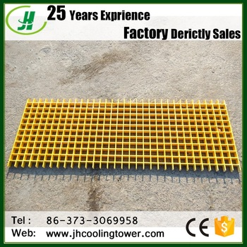 fiberglass frp Pultruded grille grill and grating sheet for