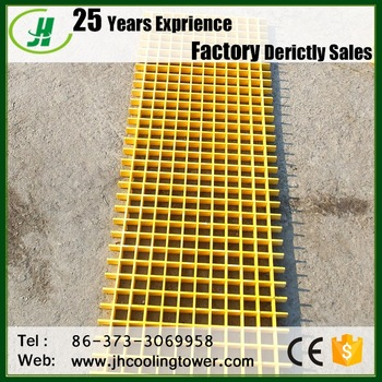 fiber glass reinforced plastic Frp light weight grating