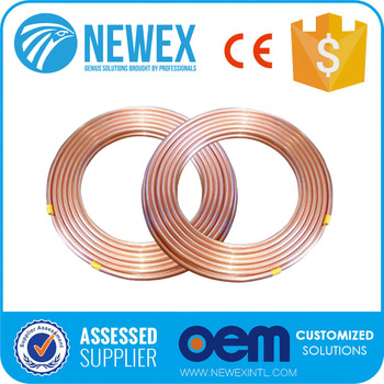 Air Conditioner Hardware Copper Coil Soft Type Refrigeration Pipe Tubing
