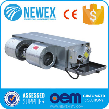 Common Type Concealed Fan Coil Unit / Carrier Chilled
