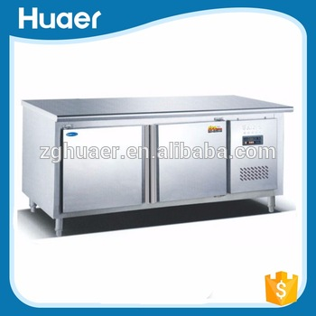 ... Clean U0026health Lowest Price Powered Saved Electricity Energy Sliding  Door Supermarket Commercial Kitchen Worktop Freezer