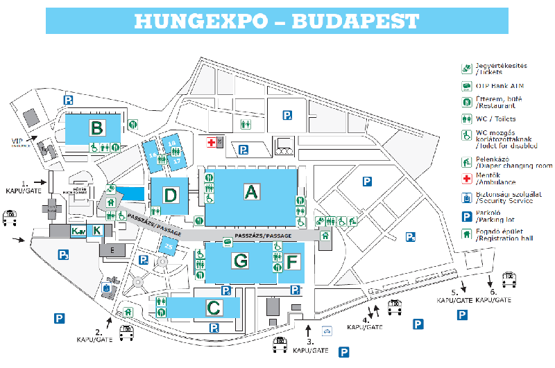 Hungexpo Budapest Fair Center